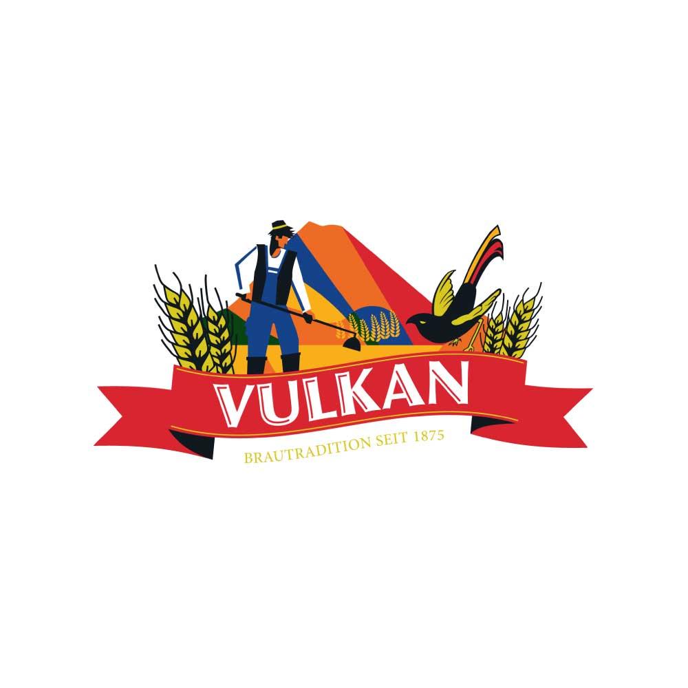 Vulkanbrauerei-Logo
